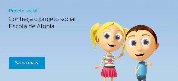 Projeto Social - Conheça o projeto social Escola de Atopia