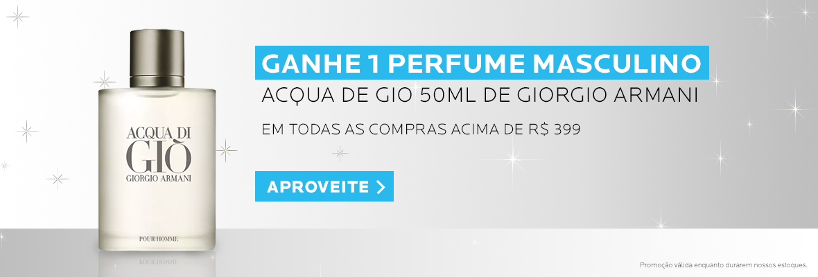Ganhe Perfume Giorgio Armani